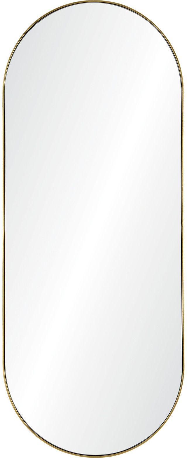 Miroir mural Marius, feuille d'or, Renwil®-MT2366