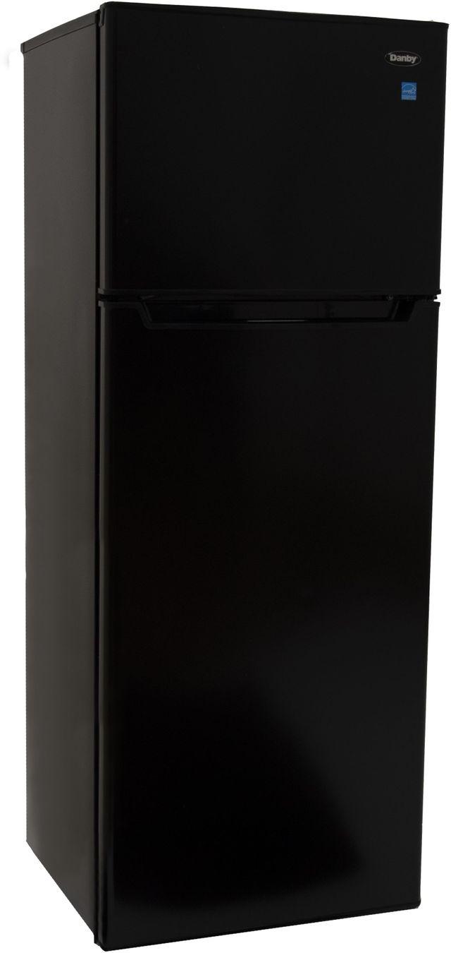 Danby® 7.3 Cu. Ft. Black Top Freezer Refrigerator-DPF073C2BDB