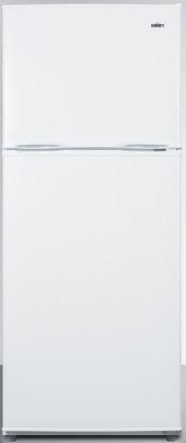 Summit® 9.9 Cu. Ft. Top Freezer Refrigerator-White-FF1071WIM