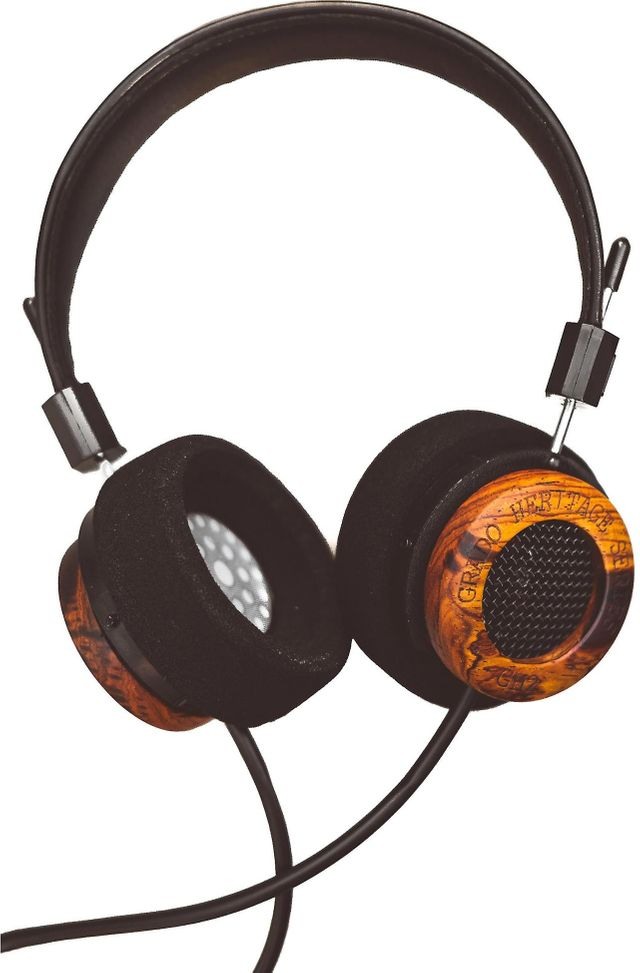 Grado GH2 Heritage Series Limited Edition On-Ear Headphone-4E-GH2
