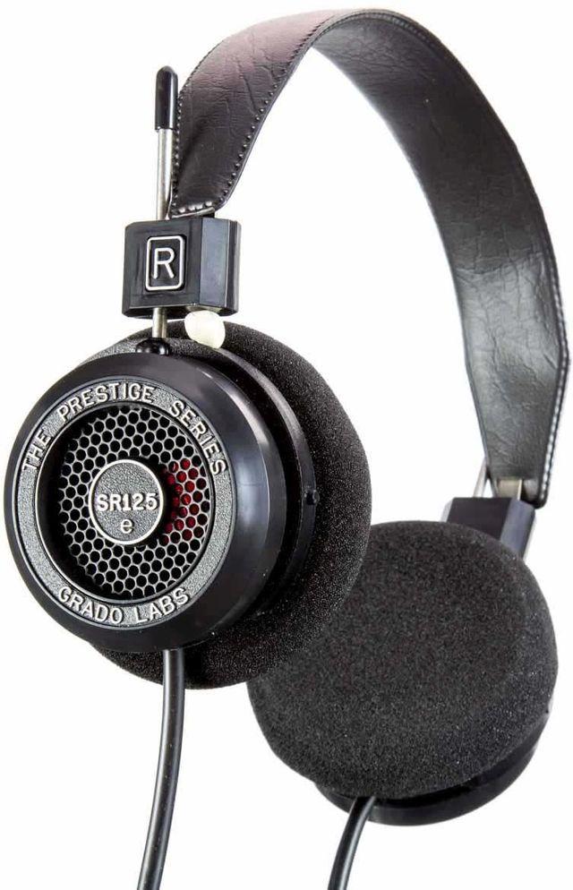 Grado SR125e Prestige Series On-Ear Headphone-Black-4E-SR125E