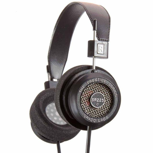 Grado SR225e Prestige Series On-Ear Headphone-Black-4E-SR225E