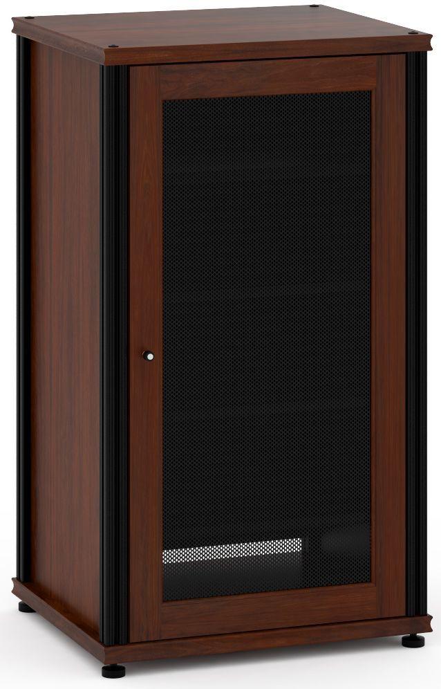 Salamander Designs® Synergy Model 402 AV Cabinet-Dark Walnut/Black-SB402W/B