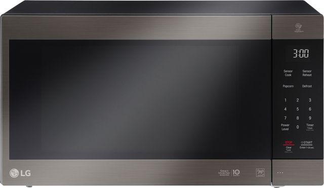 LG NeoChef™ 2.0 Cu. Ft. Black Stainless Steel Countertop Microwave-LMC2075BD