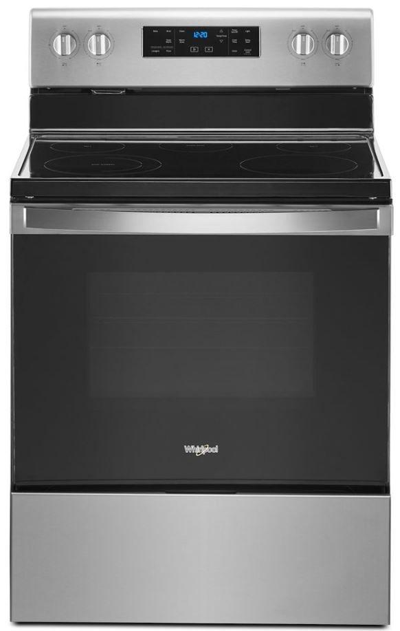"Whirlpool® 30"" Fingerprint Resistant Stainless Steel Free Standing Electric Range-WFE525S0JZ"