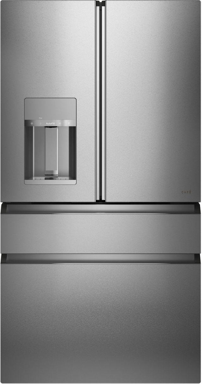 Café™ 27.56 Cu. Ft. Platinum 4-Door French Door Refrigerator-CVE28DM5NS5