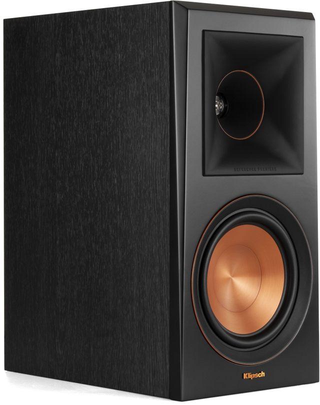 Klipsch® Ebony RP-600M Bookcase Monitor Speaker-1065804