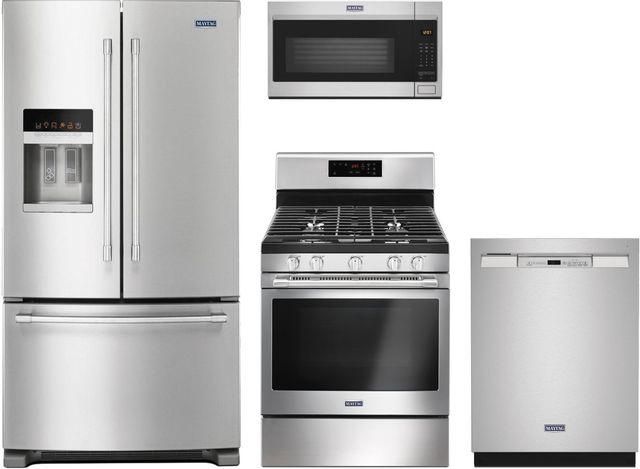 Maytag® 4 Piece Fingerprint Resistant Stainless Steel Kitchen Package-MAKITMDB4949SKZ