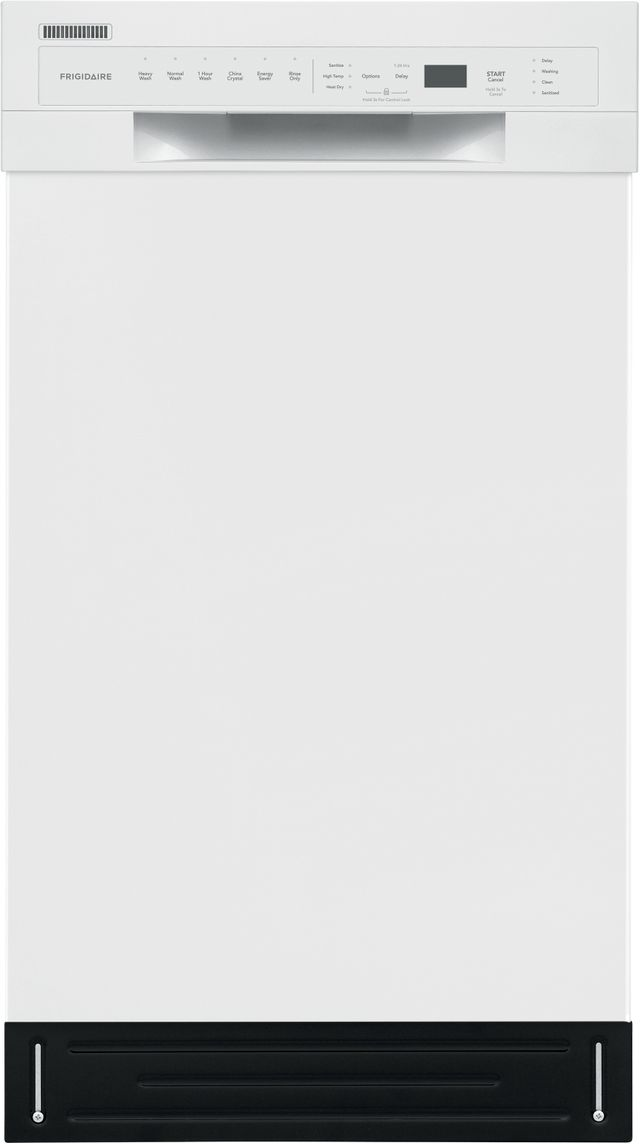 Frigidaire® 18'' White Built In Dishwasher-FFBD1831UW