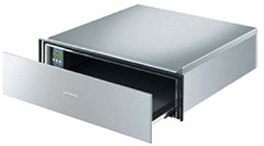 """Smeg 24"""" Food and Dish Warming Drawer-Fingerproof Stainless Steel-CTPU15X"""