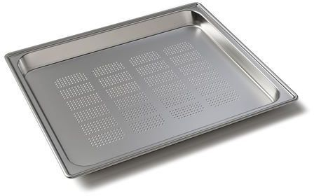 """Wolf® 12.75"""" Stainless Steel Convection Steam Oven Perforated Pan-820018"""