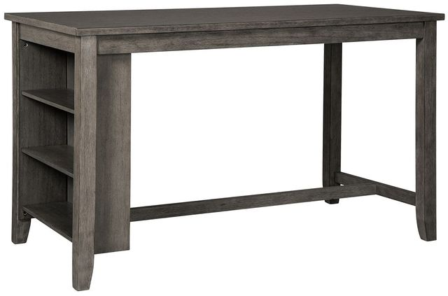 Signature Design by Ashley® Caitbrook Gray Rectangle Dining Room Counter Table-D388-13