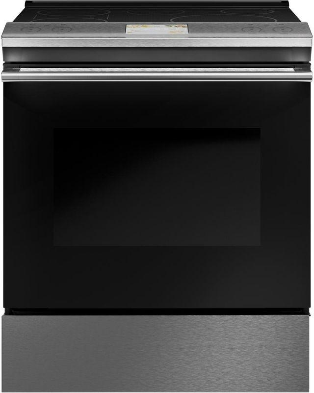 "Café™ 30"" Black Slide In Electric Range-CHS900M2NS5"