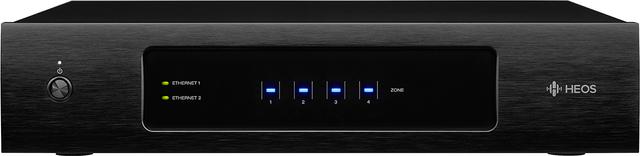 HEOS® by Denon® Black Multi-Zone Amplifier-HEOS DRIVE