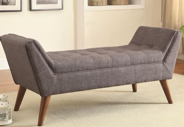 Coaster® Grey And Brown Accent Bench-500008