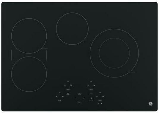 "GE® 30"" Electric Cooktop-Black-JP5030DJBB"
