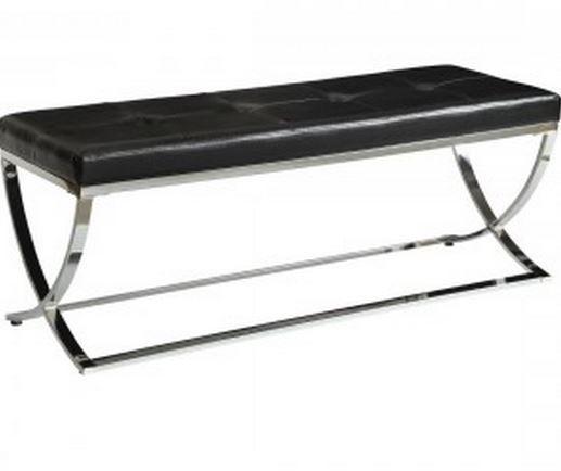 Coaster® Black Bench-501156