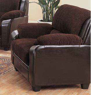 Coaster® Monika Chocolate Chair-502813