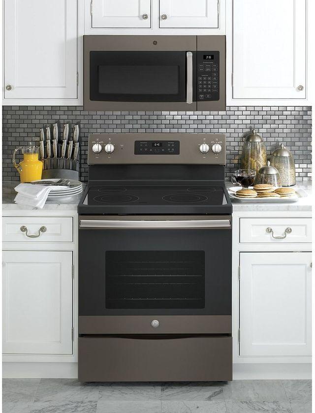 GE® Over-The-Range Microwave Oven-Slate-JVM3160EFES