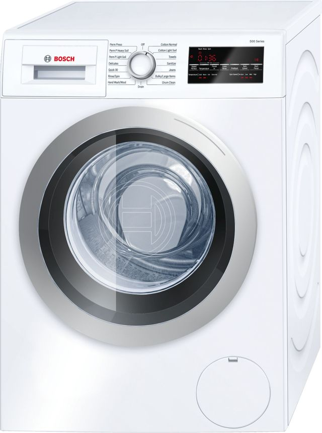 Bosch 500 Series Compact Front Load Washer-White-WAT28401UC-05-0320