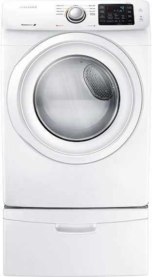 Samsung Front Load Electric Dryer-White-DV42H5000EW/A3
