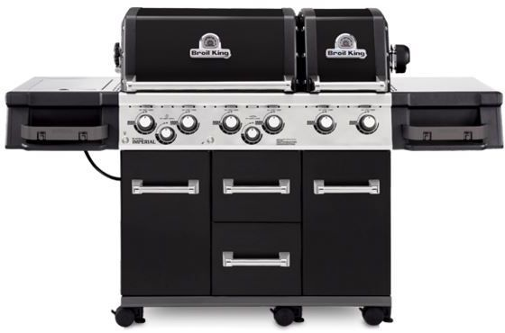 """Broil King® Imperial™ XL Series 24.8"""" Black Freestanding Grill-957784"""