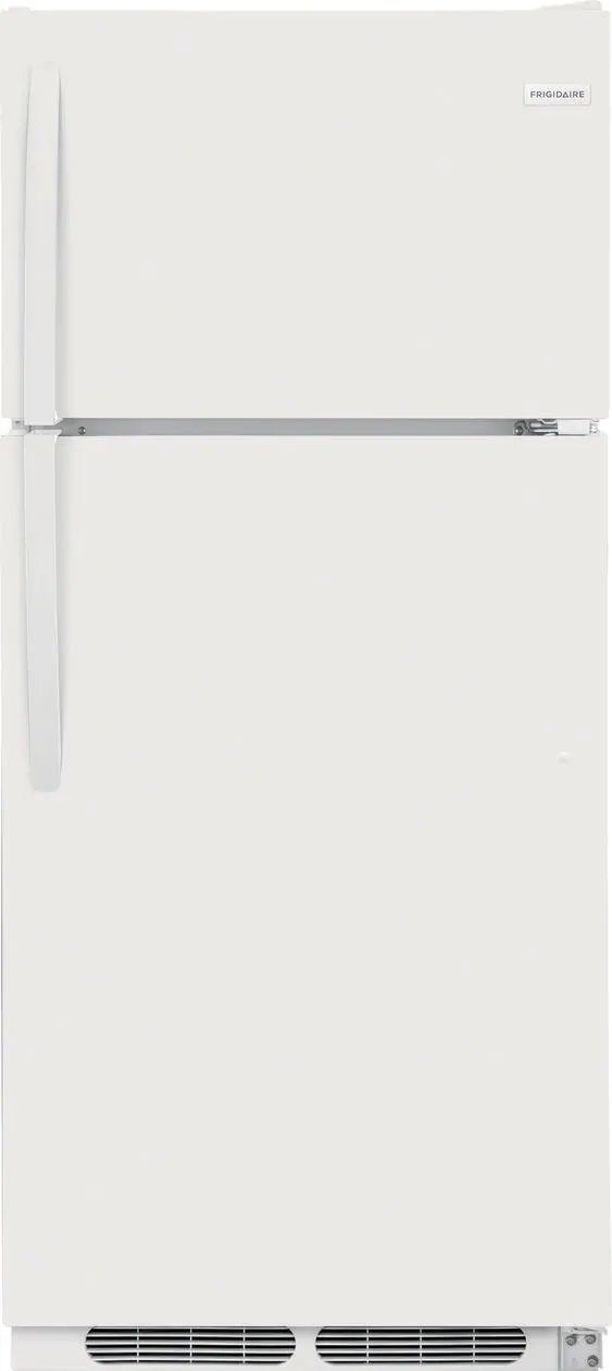 Frigidaire® 16.3 Cu. Ft. White Top Freezer Refrigerator-FFHT1621TW