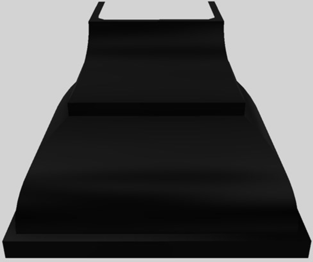 "Vent-A-Hood® Designer Series 42"" Wall Mounted Range Hood-Black-JCH142/B1 BL"