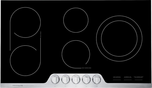 Frigidaire Professional® 36'' Stainless Steel Electric Cooktop-FPEC3677RF