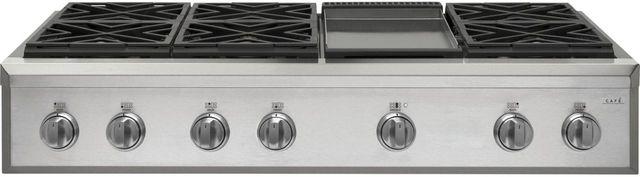 "Café™ 48"" Stainless Steel Professional Gas Rangetop-CGU486P2MS1"