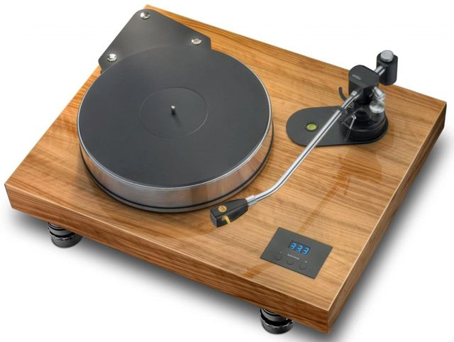 Pro-Ject Xtension Manual Turntable-High Gloss Lacquer Olive-Xtension 12 Evolution-OL