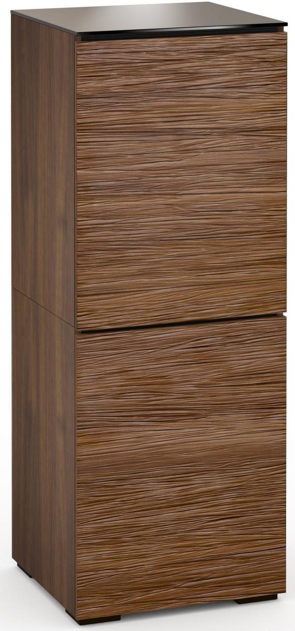 Salamander Designs® Denver 617 AV Cabinet-Textured Medium Walnut-C/DV617/MW