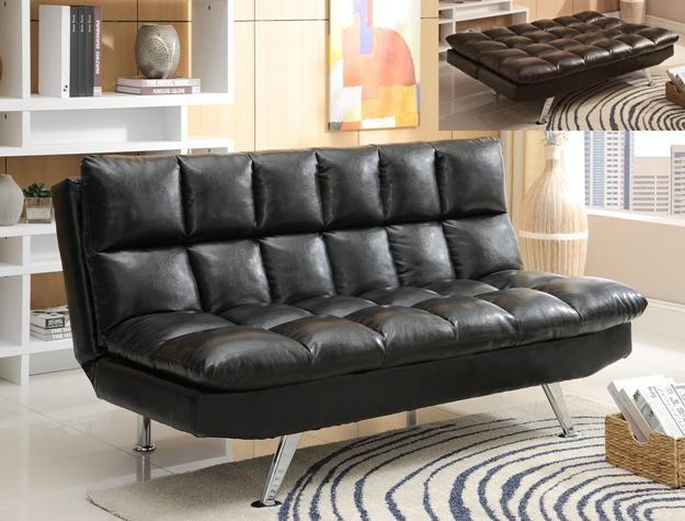 Crown Mark Sundown Adjustable Sofa-5250-BK