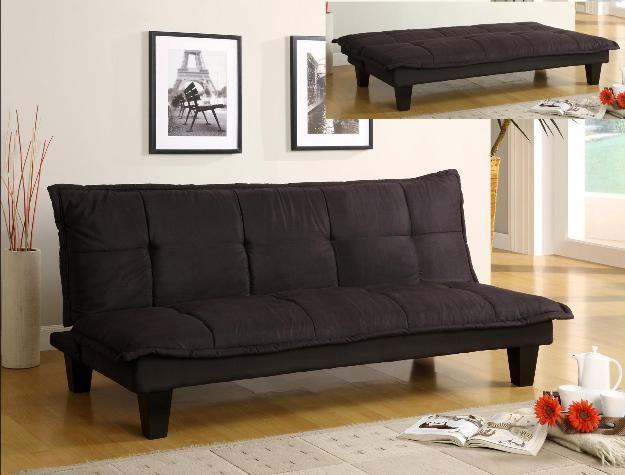 Crown Mark Margo Adjustable Sofa-5255-BK