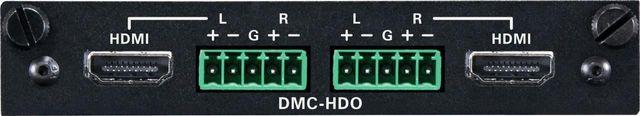 Crestron® 2-Channel HDMI® Output Card-DMC-HDO