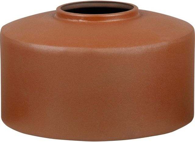 Vase en terre cuite Mary, orange terracotta, Renwil®-VAS203
