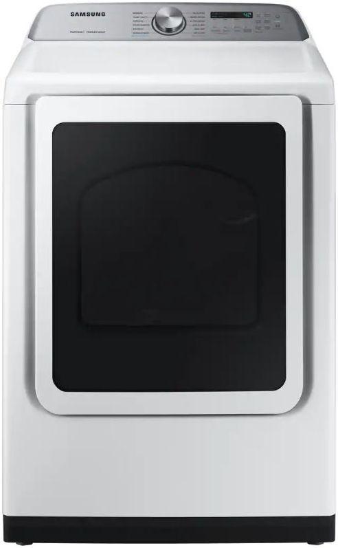 Samsung 7.4 Cu. Ft. White Front Load Gas Dryer-DVG50R5400W