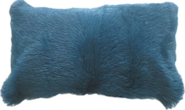 Moe's Home Collections Goat Fur Bolster-XU-1004-26