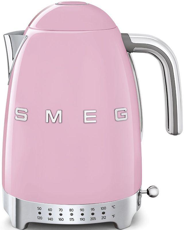 Smeg 50's Retro Style Aesthetic Pink Electric Kettle-KLF04PKUS