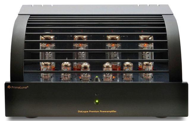 PrimaLuna® DiaLogue Premium Power Amplifier-Black-DiaLogue Premium Power Amplifier-Black