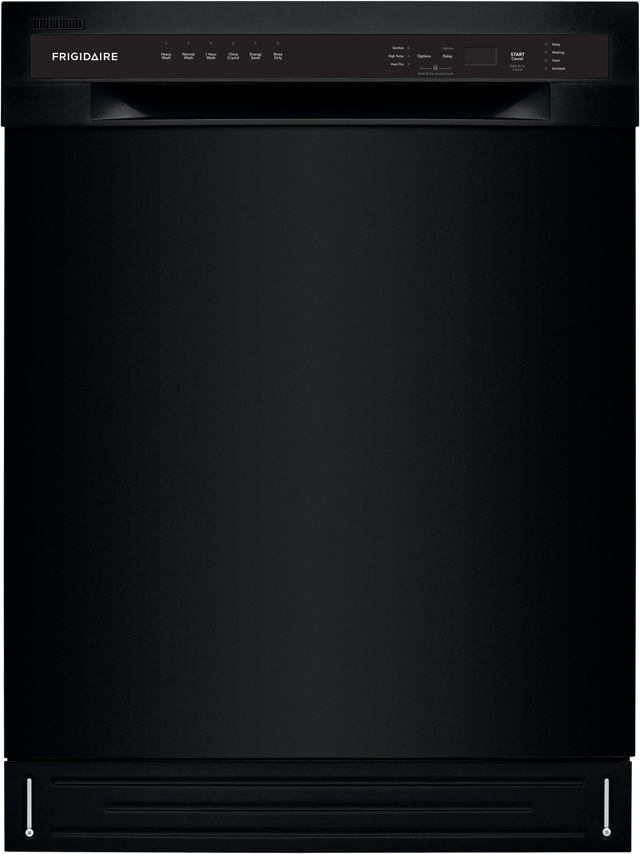 Frigidaire® 24'' Black Built In Dishwasher-FFBD2420UB