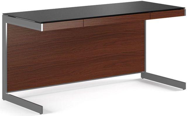 BDI Sequel® 6001 Desk-Chocolate Stained Walnut-6001-CHOCOLATE WALNUT