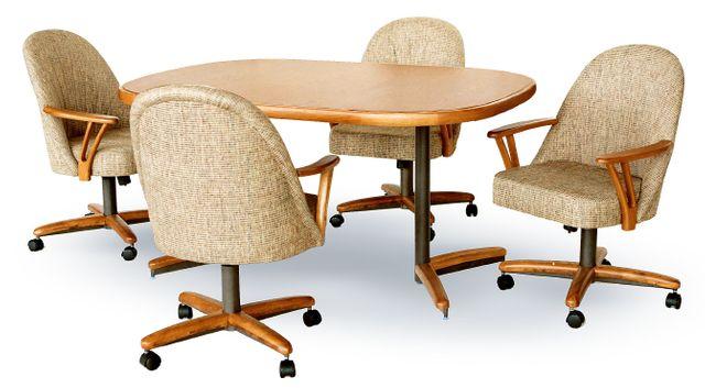 Chromcraft™ Dining Table-CD324NM+C355MZ