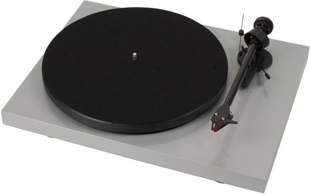 Pro-Ject Debut Carbon High Gloss Silver Turntable-Debut Carbon DC-SL
