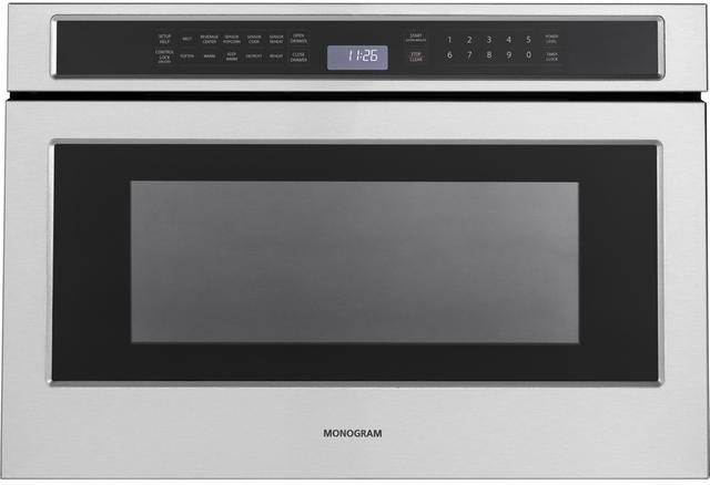 Monogram® Drawer Microwave-Stainless Steel-ZWL1126SJSS