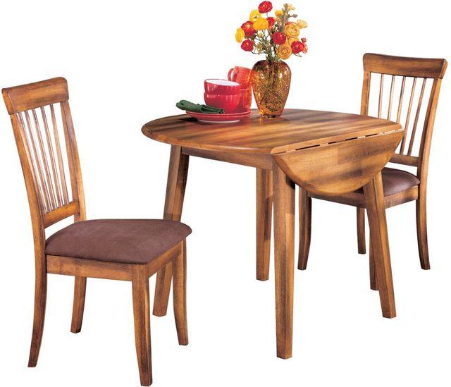 Ashley® Berringer Round Drop-Leaf Dining Table-D199-15
