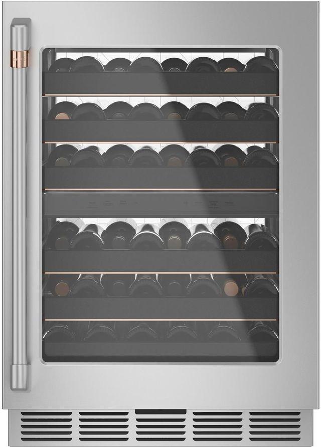 Café™ 4.70 Cu. Ft. Stainless Steel Wine Cooler-CCP06DP2PS1