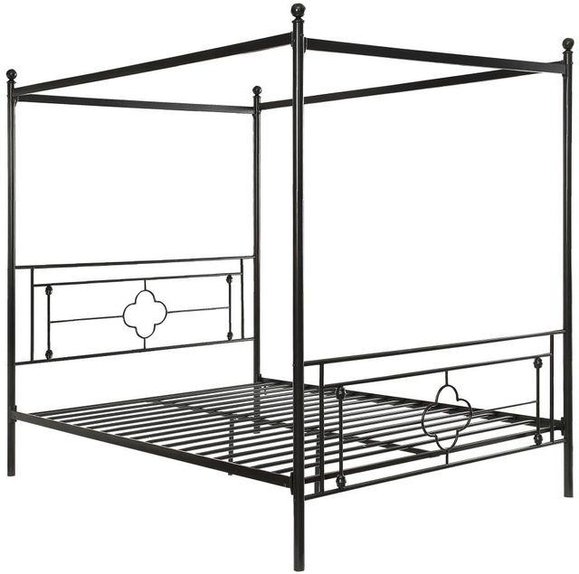 Hosta Queen Canopy Bed-1758-1