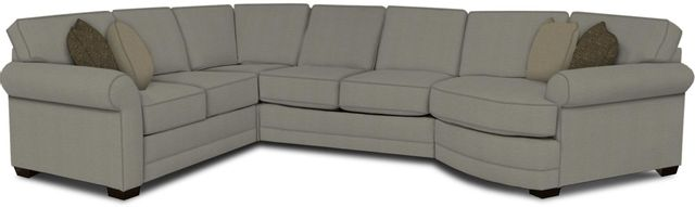England Furniture Co. Brantley 4 Piece Culpepper Cement/Alvaro Mineral/Pineland Sea Sectional-5630-28-22-43-95+8612+8659+8601