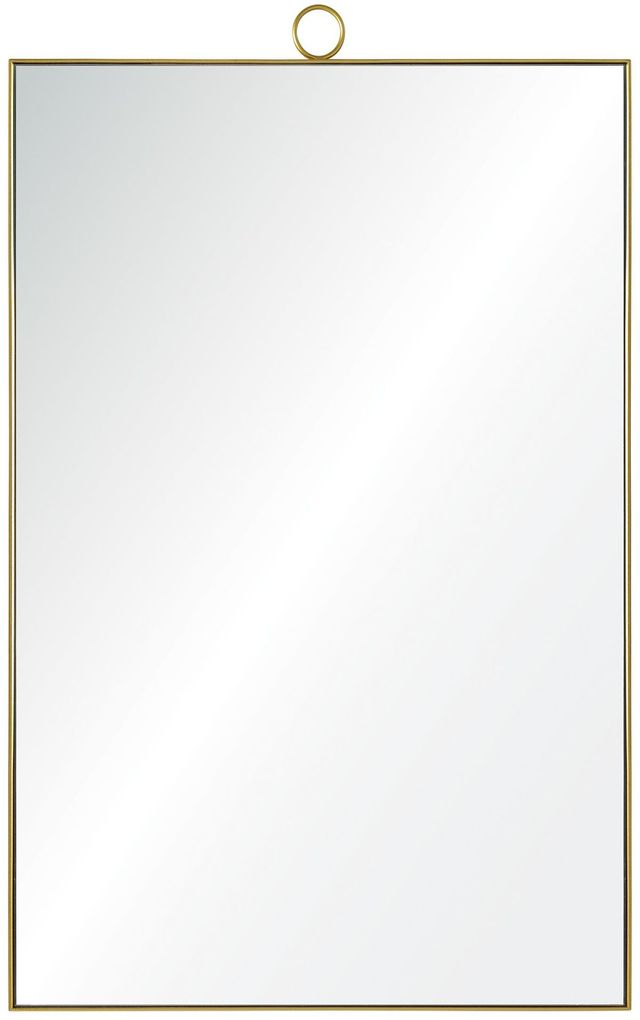 Miroir en laiton Vertice, laiton, Renwil®-MT1698